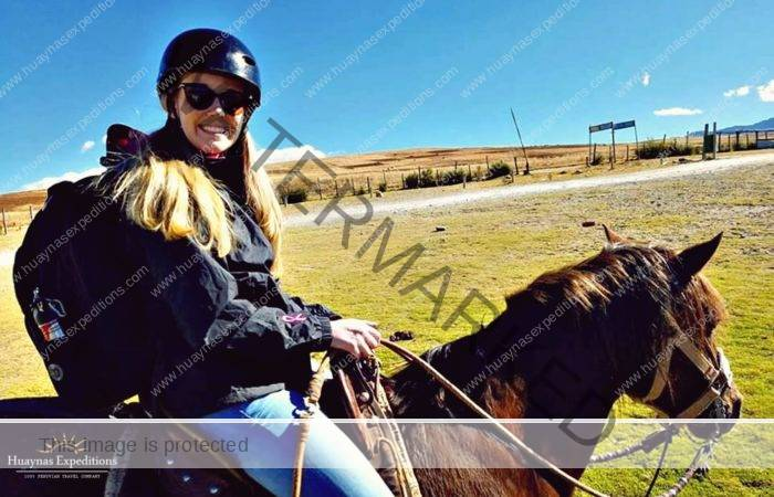 Horseback riding to Machu Picchu